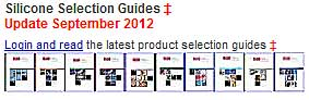 Silicone Selection Guides Updated 2012